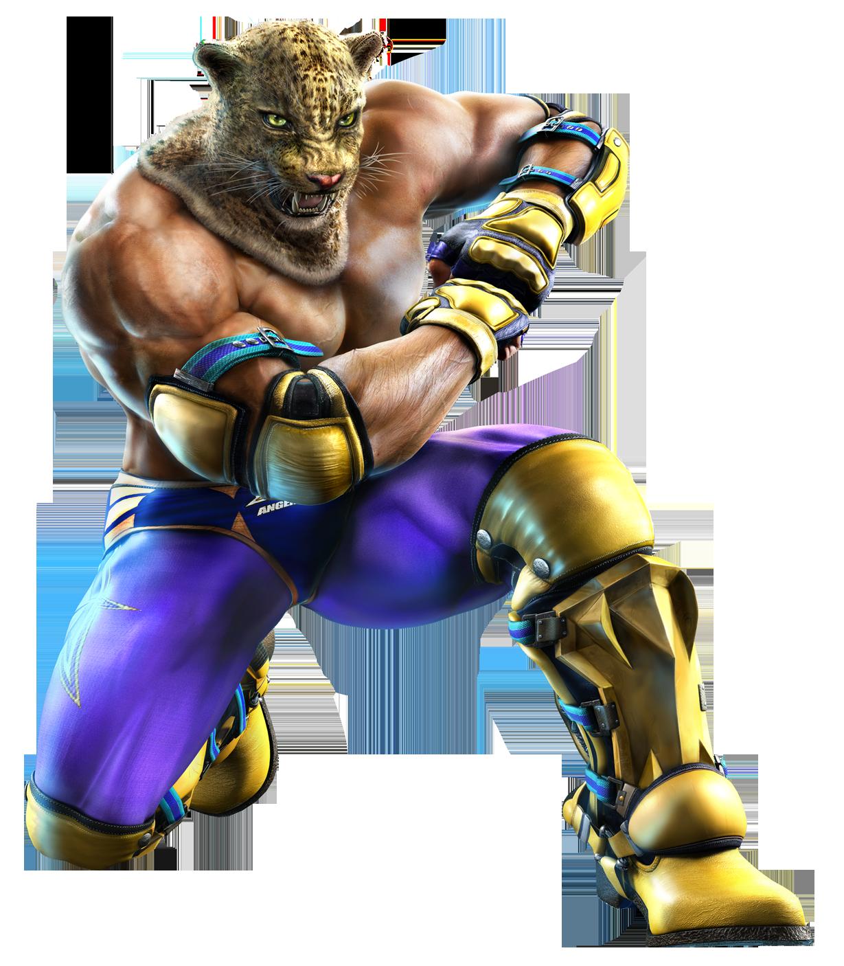 Tekken King Mask King ttt2 cgi by alisa6465