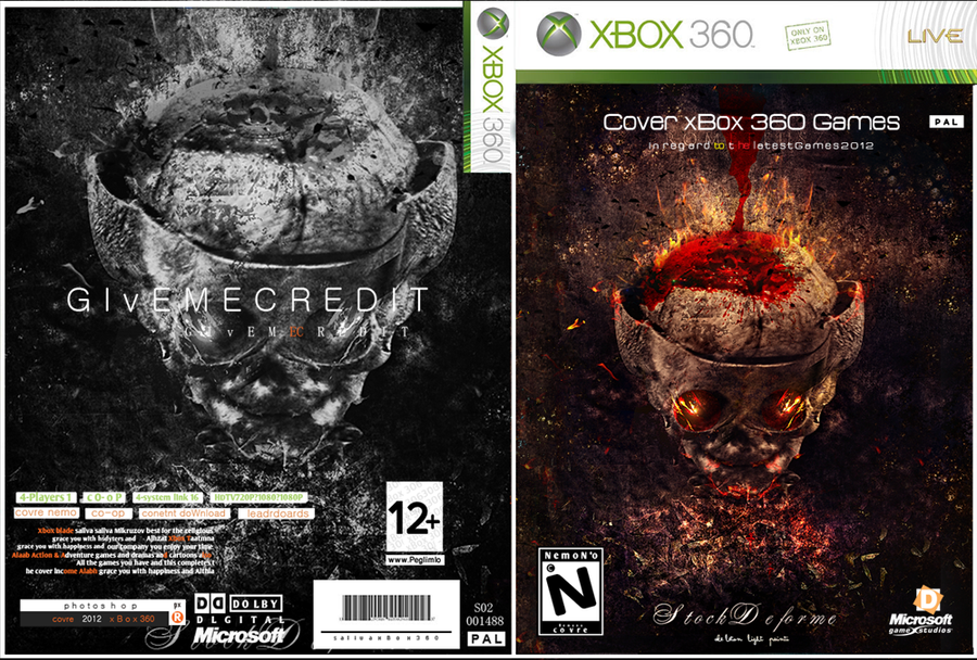Gallery Xbox 360 Game Covers 2012