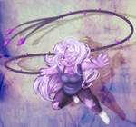 Amethyst and her whip