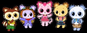Curucuru and Friends commissions