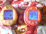 Two of my Tamagotchis