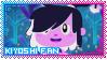 Kiyoshi Fan Stamp by Tamatanium