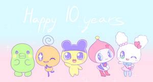 Tamagotchi Anime 10 Year Anniversary