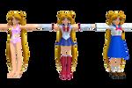 MMD Newcomer 3 Sailor Moons