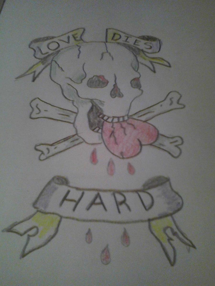 Love Dies Hard by Bloodonmyhands25