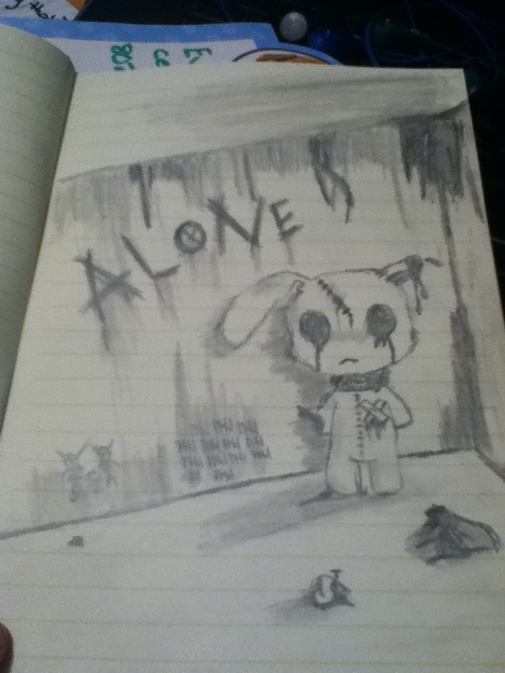 Alone by Bloodonmyhands25