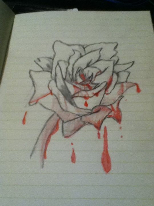 Bloody Rose by Bloodonmyhands25