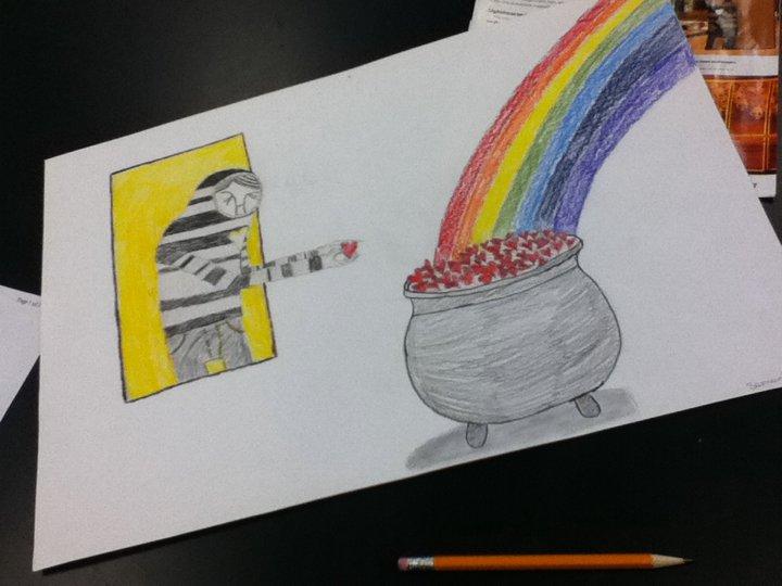 Art Class 2 by Bloodonmyhands25