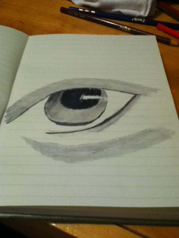 Black Eye by Bloodonmyhands25