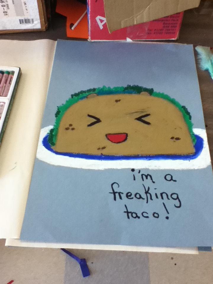 I'm A Freakin' Taco by Bloodonmyhands25