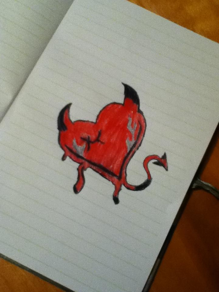 Devil Heart by Bloodonmyhands25