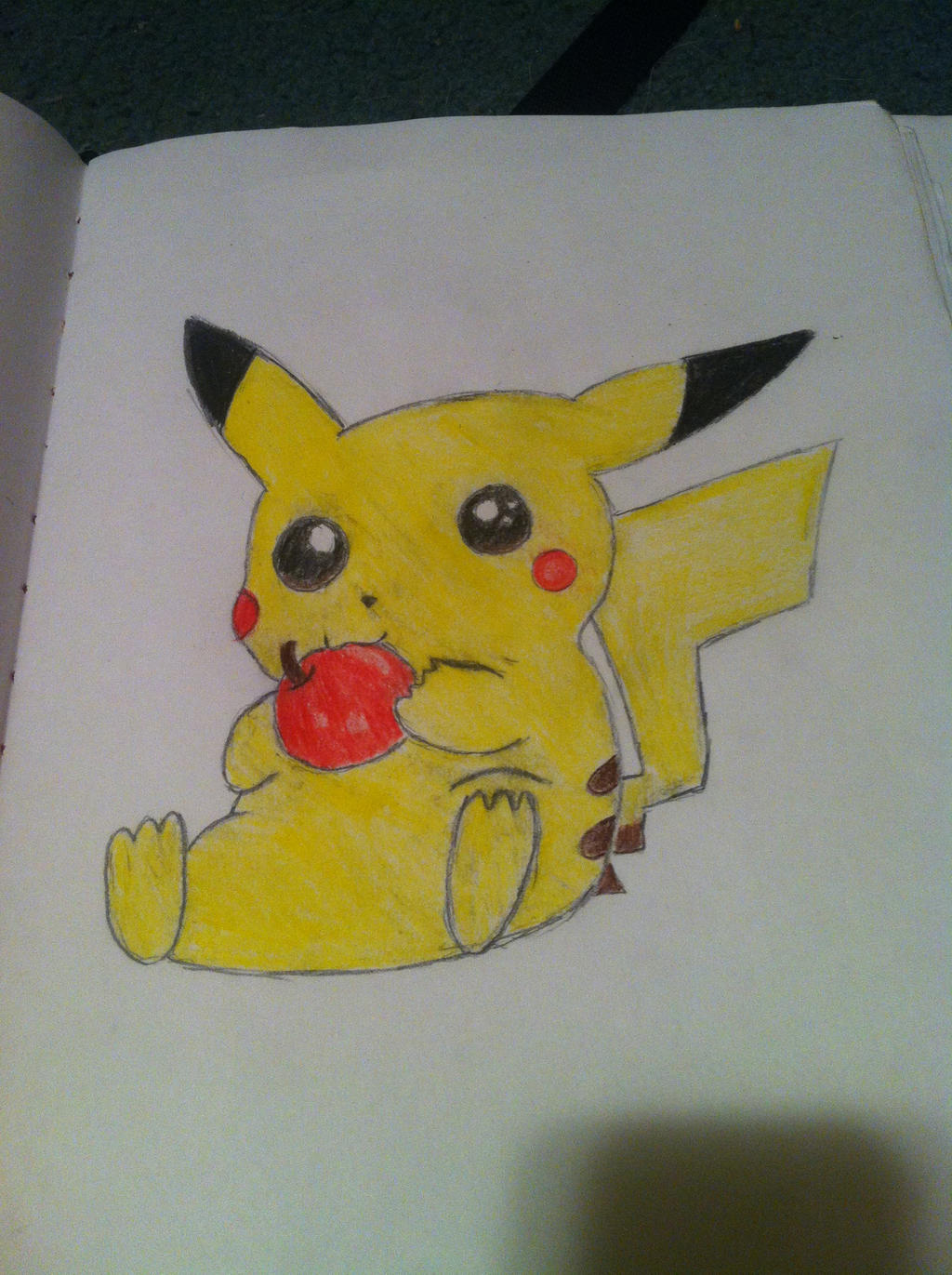 Pikachu by Bloodonmyhands25