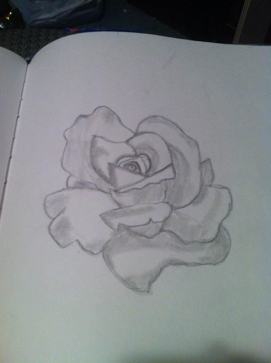 Just a Rose by Bloodonmyhands25