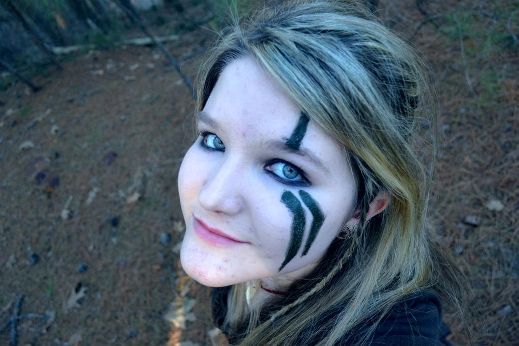 Awesome Face Paint Fantasy
