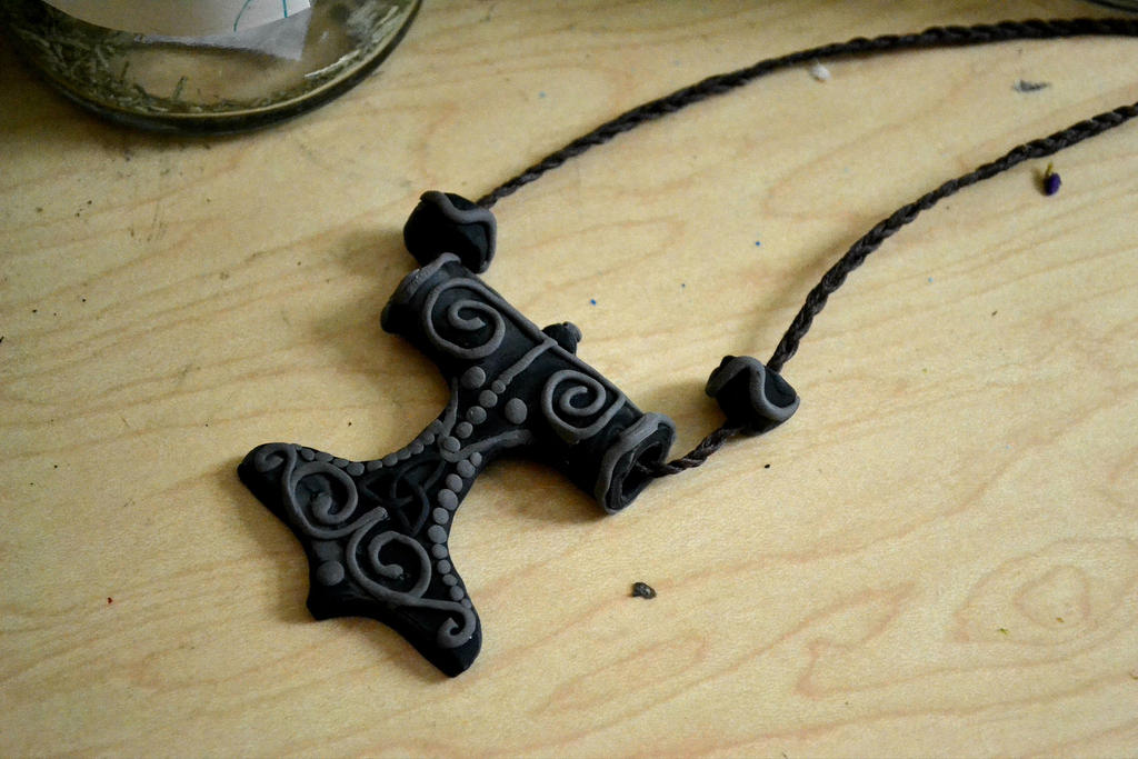 the hammer of thor amulet by ambitiousartisan on deviantart