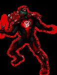 Red Lantern Raphael