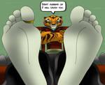 Tigress feet 2 (Reupload)