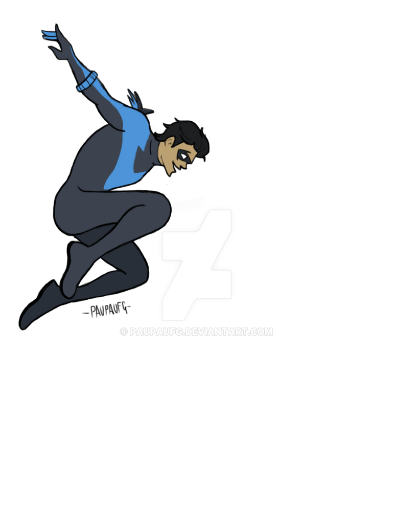 Nightwing by PauPaufg