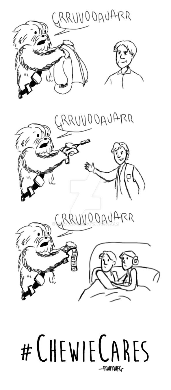 Chewie Cares by PauPaufg