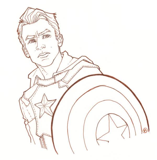 Captain America: Ink by DanielleJensen