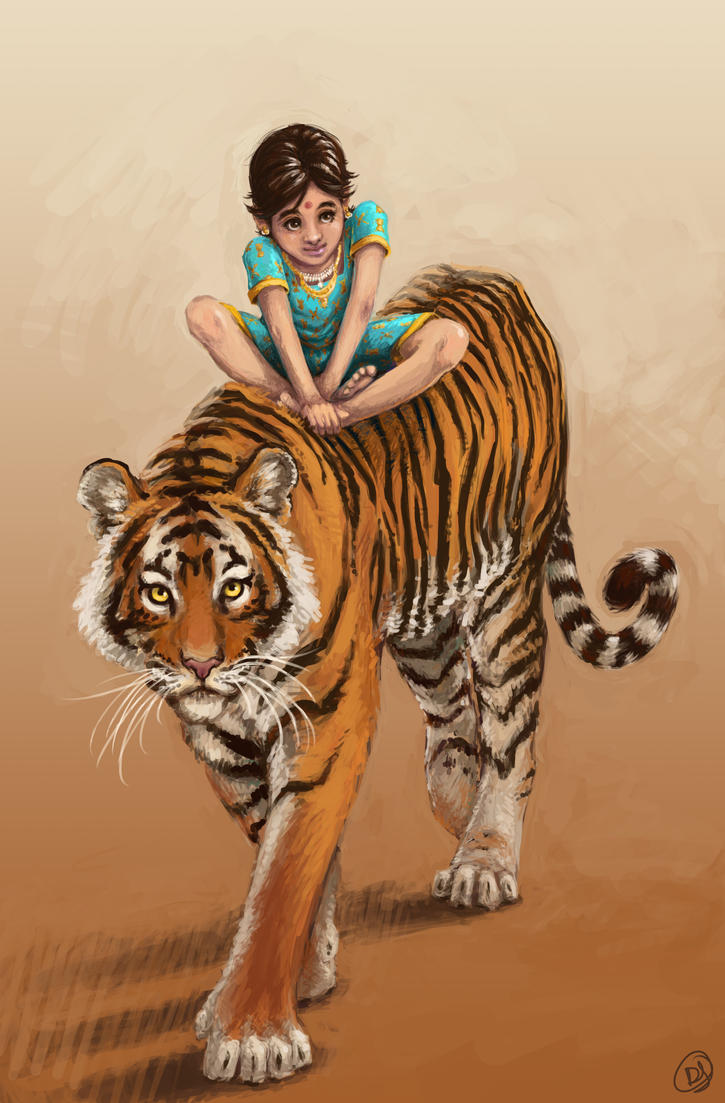 Tiger Child by DanielleJensen