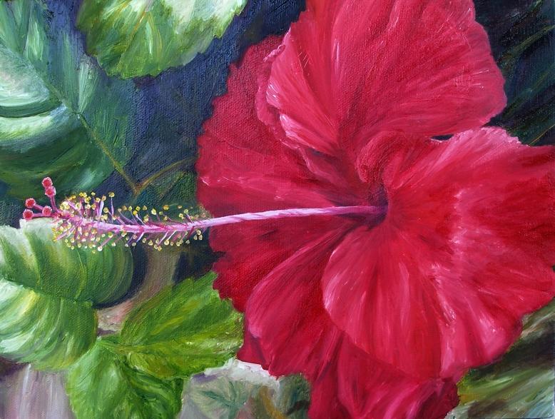 Red flower long stamen by pheona on deviantart mightylinksfo