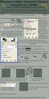 Lineart tutorial for GIMP