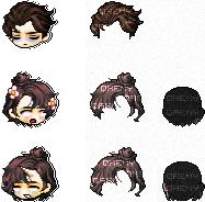 hair adopts / 03 by qaemy
