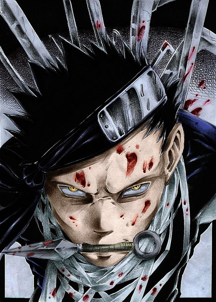 And show no fear in the face  Zabuza Momochi Face