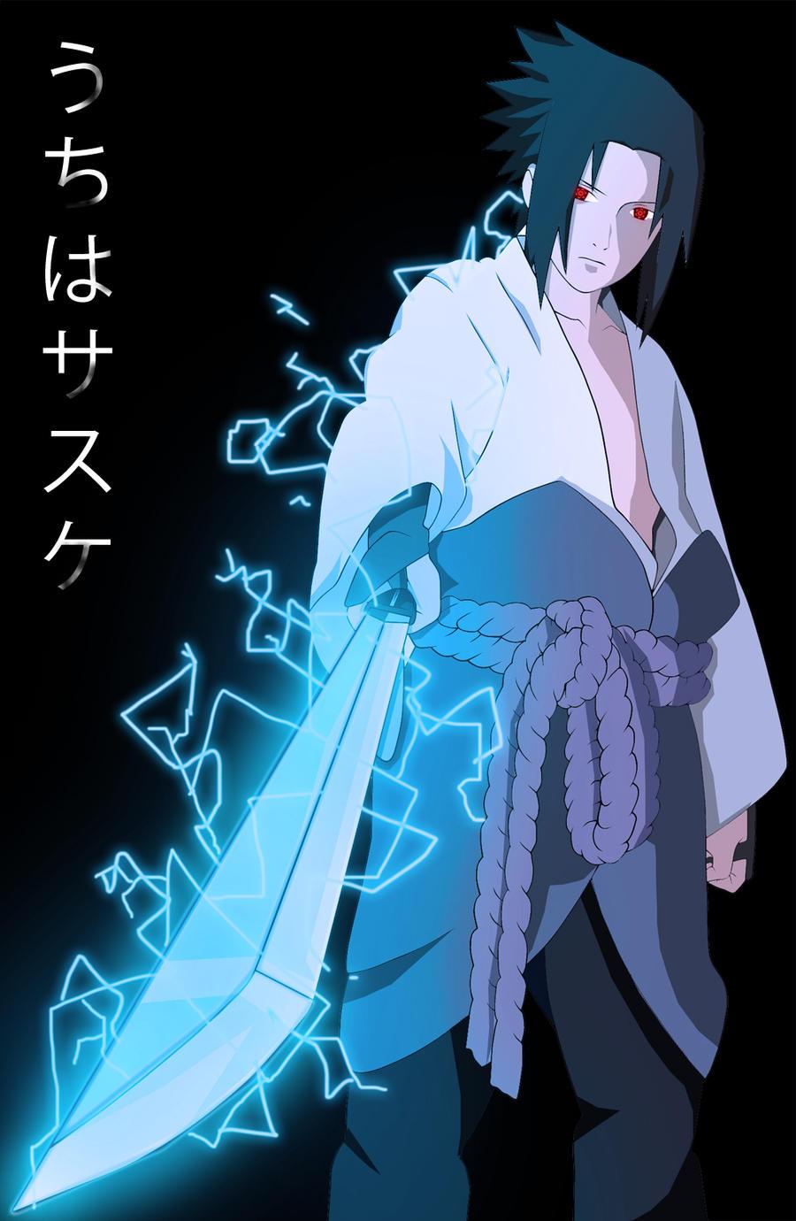 (IC) The Life of a Shinobi (Chapter 1: Squad 5) Sasuke_sword_chidori_by_xxang3leyesxx-d35cubv