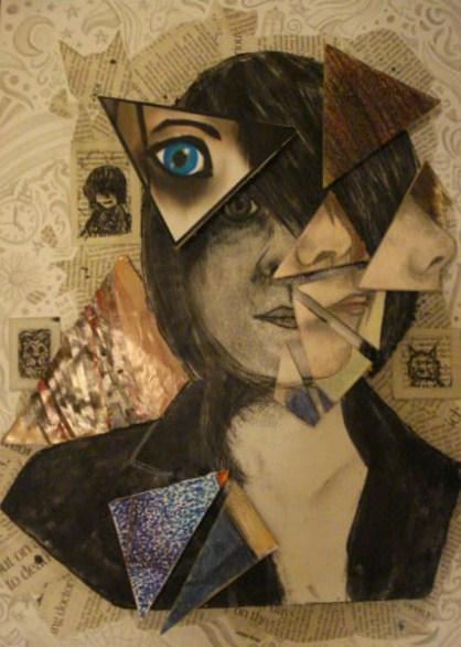 portrait cubism by papermonicle on portrait cubism by papermonicle