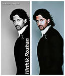 hirthik color bw by terenaam