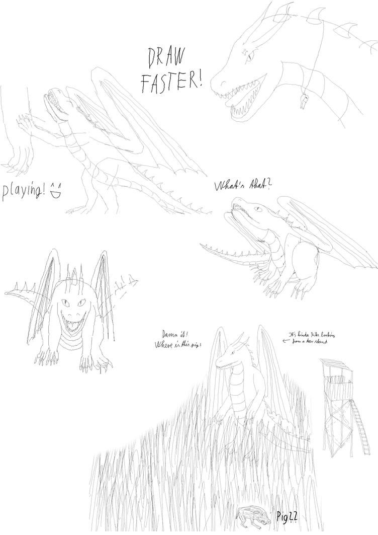 Sketch dumb - draw faster by DragonAryn