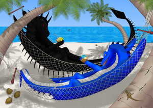 2 dragons in paradise