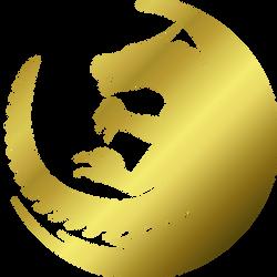 Aryn logo - gold