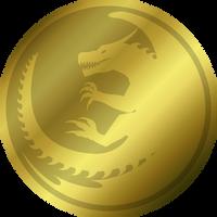 Aryn coin - gold