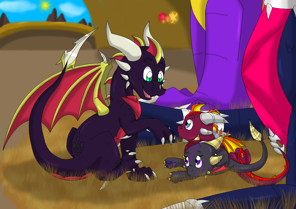 spyro and cynder favourites by commando50 on DeviantArt
