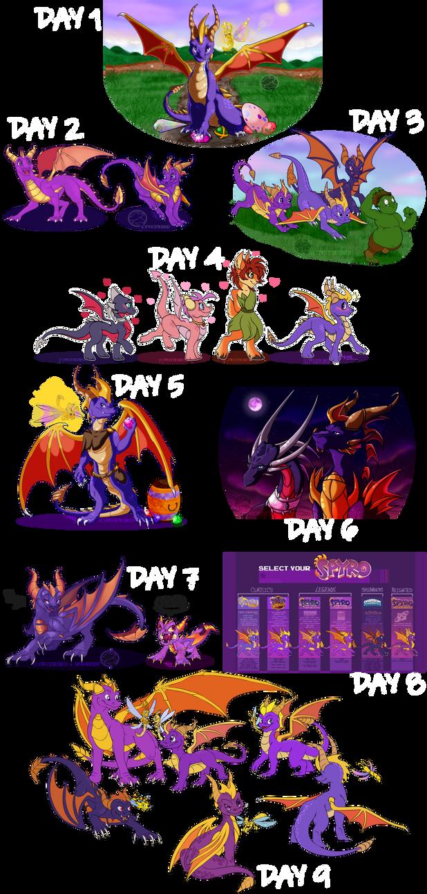 Spyro Week Mashup by SighriaDragoness12