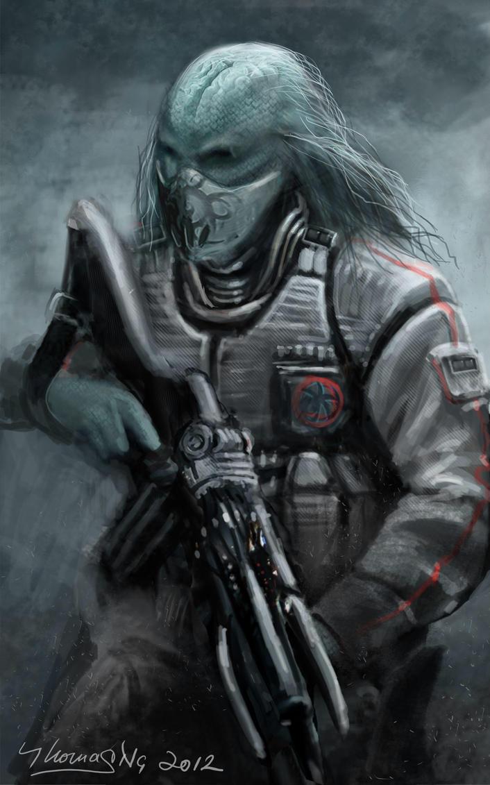 Alien Soldier 6 by Tom...