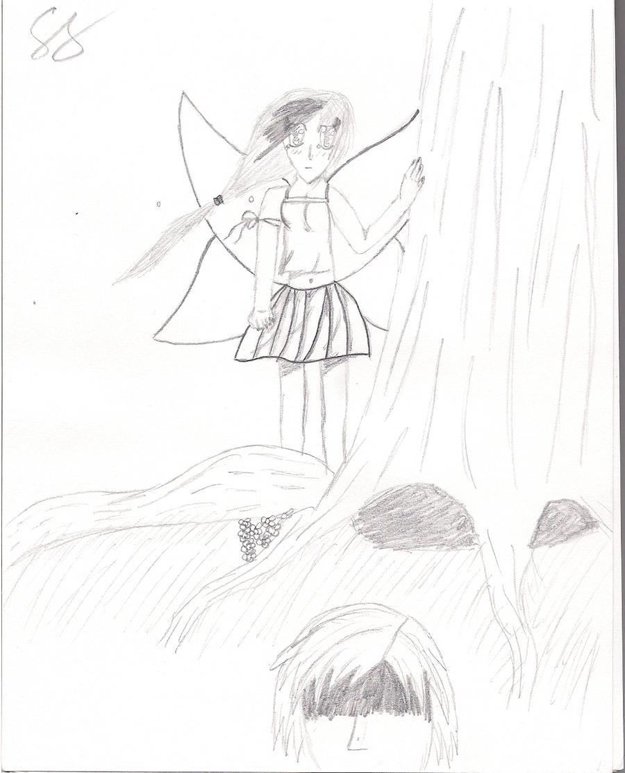 fairy u0027s broken love pencil drawing by minilove17 on deviantart