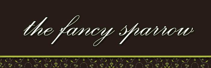 Logo Art : The Fancy Sparrow