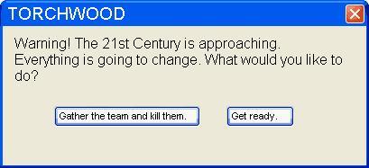 Torchwood - The 21st Century by mc-hammark