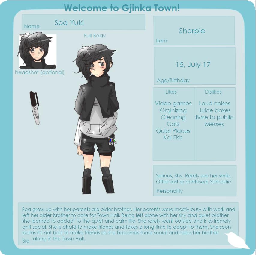 Soa Yuki : Application by Aekamii