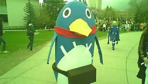Otafest 2014, Butt-kicking Penguin by Blufire1992