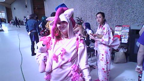 Otafest 2014 too much pinky pie by Blufire1992