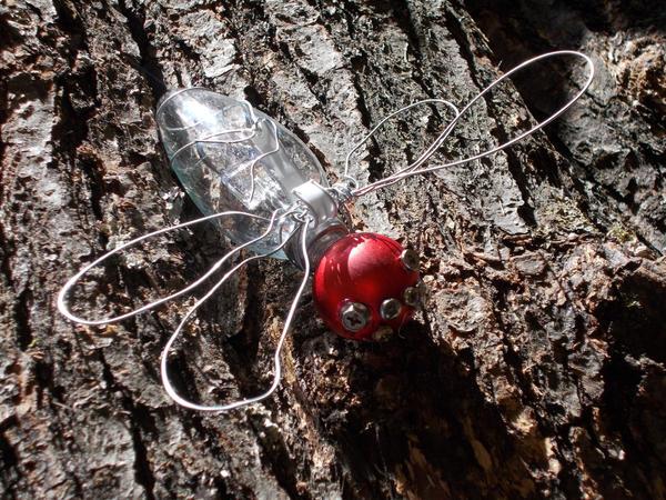 Christmas butterfly by 1danterocks