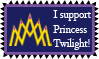 [stamp] I Support Princess Twilight! by Infrasonicman