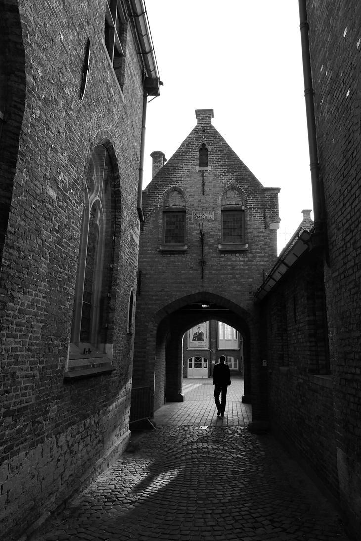 Old City Passage by Lissou-photography