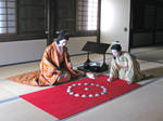 Wax Girls Playing an Old Game