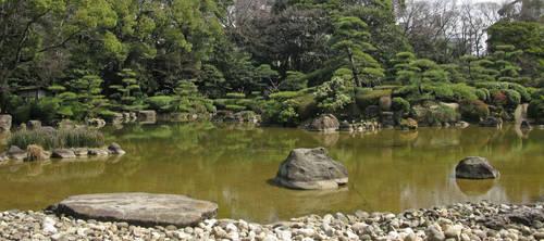 Garden Landscape-1 by Lissou-photography